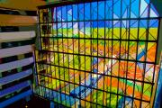 Walt Disney World Digital Art - Contemporary Window by David Lee Thompson