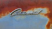 TONY GRIDER - Continental Emblem on Rust