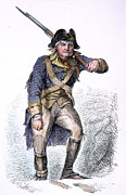 Bayonet Prints - Continental Soldier, 1777 Print by Granger
