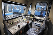 Update Prints - Controls Of A Metro Train In Russia Print by Ria Novosti