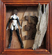Found Sculpture Framed Prints - Controversy Framed Print by Snake Jagger