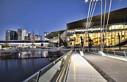 Convention Prints - Convention Center Melbourne Australia Print by Douglas Barnard