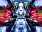 Unity Digital Art Posters - Convergence Abstract Poster by Alexander Butler