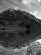Jim Morrison Prints - Convict Lake Print by Chris Morrison