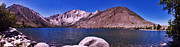 Lake Reflection Framed Prints - Convict Lake Framed Print by Gary Brandes