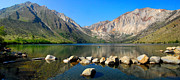 Lynn Bauer Photography Posters - Convict Lake Panorama Poster by Lynn Bauer