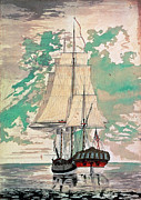 1770s Prints - Cook: Hms Resolution Print by Granger