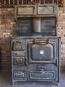 Antique Wood Burning Stove Prints - Cook Stove Print by Ralph Brannan