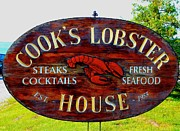 Basquez Framed Prints - Cooks Lobster House Framed Print by Robbie Basquez