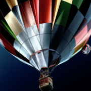 Hot Air Balloons Digital Art - Cool Air Balloons by David Patterson