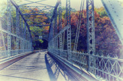 Iron Bridges Prints - Cool Bridge Print by Ross Powell