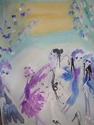 Fairies Originals - Cool fairies by Judith Desrosiers