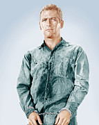 1960s Movies Posters - Cool Hand Luke, Paul Newman, 1967 Poster by Everett
