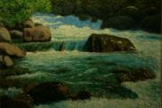 Terry Perham Originals - Cool Mountain Water by Terry Perham