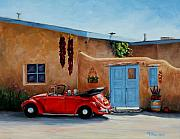 Taos Paintings - Cool Ride by Mary Giacomini