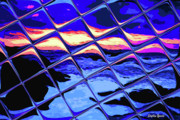 Cool Tile Reflection Print by Stephen Younts