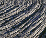 Hawai Prints - Cooled Pahoehoe Lava, Hawaii Print by G. Brad Lewis