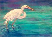 Florida Waterscape Originals - Cooling Off by Sandy Hemmer