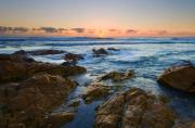 Sunburst Art - Coolum Dawn by Mike  Dawson