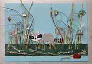 Gracie Mixed Media Originals - Coon Marsh by Gracies Creations