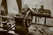 Cooperage Framed Prints - Cooperage tools Framed Print by Gaspar Avila