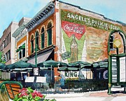 Restaurant Signs Paintings - Coopersmiths Again by Tom Riggs