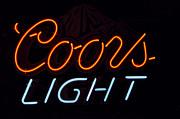 Coors Light Print by Juls Adams
