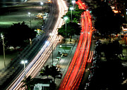 Tail Photos - Copacabana At Night by Luiz Felipe Castro