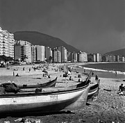Edge Prints - Copacabana Beach Print by Evans