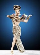 Full Skirt Metal Prints - Copacabana, Carmen Miranda, 1947 Metal Print by Everett