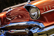 Race Digital Art Originals - Copper 1957 Chevy Bel Air by Gordon Dean II