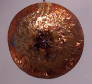 Metal Reliefs - Copper Clock by Jeff  Williams