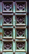 Grate Framed Prints - Copper Door Framed Print by Rob Tullis