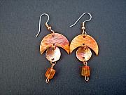 Earrings Jewelry - Copper Dream by Angie DElia