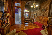 Copper King Mansion 2nd Floor Landing - Butte Montana Print by Daniel Hagerman