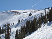 Colorado Mountains Posters - Copper Mountain Resort - Union Bowl - Colorado Poster by Brendan Reals
