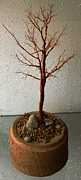 Fall Sculptures - Copper Oak by Hartz