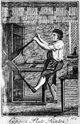 Printer Prints - Copper Plate Printer, 1807 Print by Granger