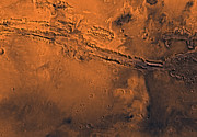 Astrogeology Photos - Coprates Region Of Mars by Stocktrek Images