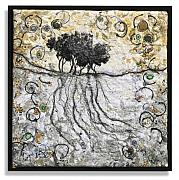 Tree Roots Tapestries - Textiles - Copse 1 by Lorraine Roy