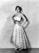 Strapless Dress Prints - Coquette, Mary Pickford, In A Gown Print by Everett