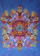 Kaleidoscope Originals - Coral Kaleidoscope by Bob Craig