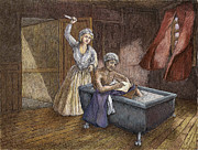 Charlotte Digital Art Prints - Corday and Marat Print by Steve Breslow