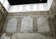 Spanish Synagogue Photos - Cordoba 14th Century Synagogue Wall II Jewish Quarter Spain by John A Shiron