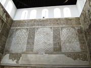 Spanish Synagogue Photos - Cordoba 14th Century Synagogue Wall Jewish Quarter Spain by John A Shiron