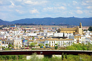 Cordoba Photos - Cordoba Cityscape in Spain by Artur Bogacki