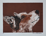 Pembroke Welsh Corgi Mixed Media - Corgis High Alert by Cori Solomon