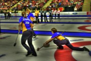 Scotties Photos - Cori Bartel Throws by Lawrence Christopher