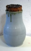 Not Made In China Pottery Ceramics - Corked Jar by Patrick Trujillo