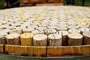 Wine Barrel Photos - Corks by Calvin Wray